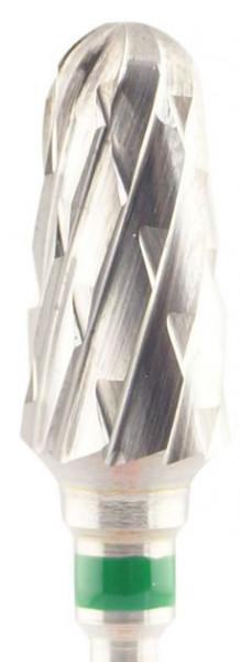 Gips-Fräser - grobe Kreuzverzahnung 14 x 7 mm