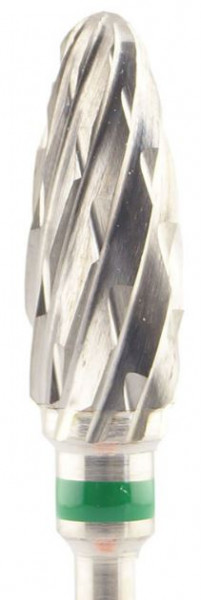 Gips-Fräser - grobe Kreuzverzahnung 14 x 6 mm