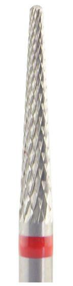 HM-Fräser - konisch spitz - feine Kreuzverzahnung 14 x 2,3 mm